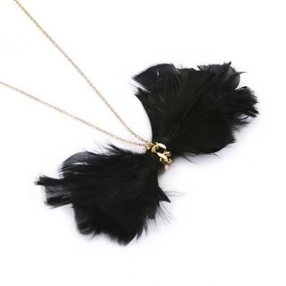 Collier black swan, d'Agy Rev
