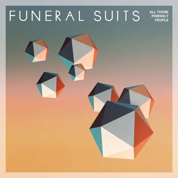 "Funeral Suits - ""All Those Friendly People""  EP artwork cover"