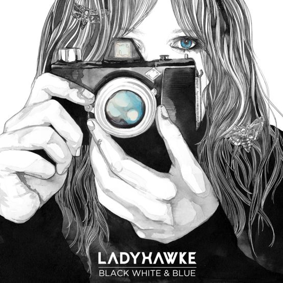 Ladyhawke - Black, White and Blue EP artwork cover