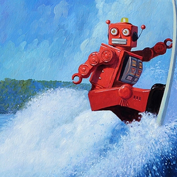 Robot + Donut = Eric Joyner