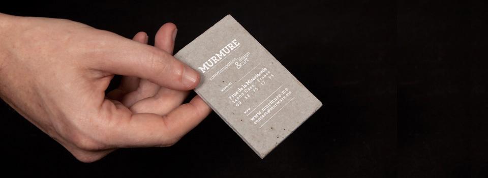 Carte De Visite Murmure