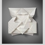 Invitation origami pour louis Vuitton