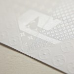 Invitation origami pour louis Vuitton - Zoom