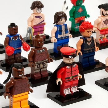 Lego Street Fighter 2