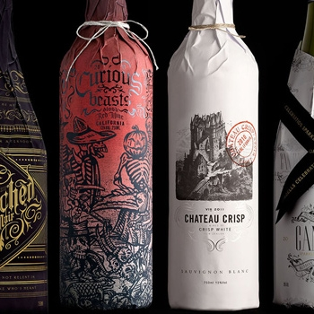Stranger & Stranger rhabille les bouteilles de vin