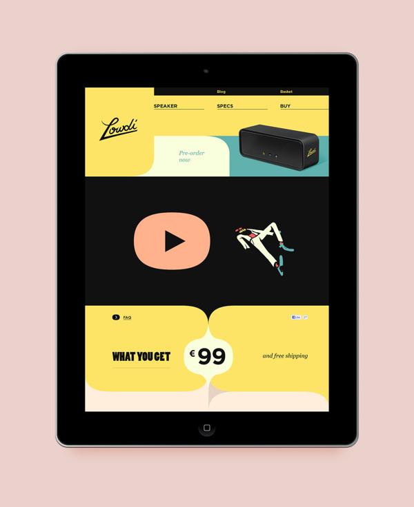 Site web responsive tablettes