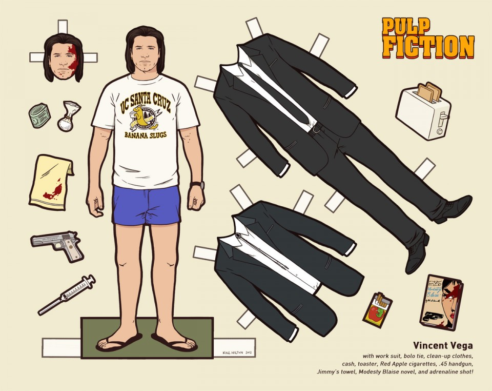"""The Cool"""" in Tarantino's Pulp Fiction 