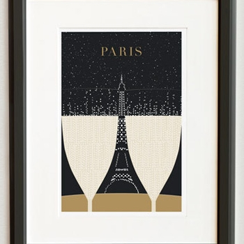 Paris-Posters by Evan & Nichole Robertson