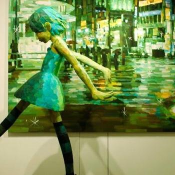 Shintaro Ohata : Quand la sculpture se superpose à la peinture