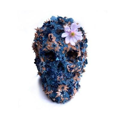 Crâne floral design – Jacky Tsai