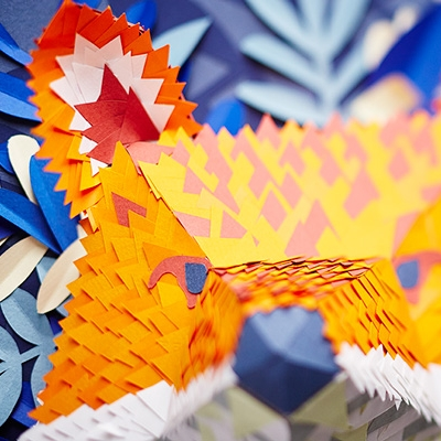 Paper Mask de Hipolyte