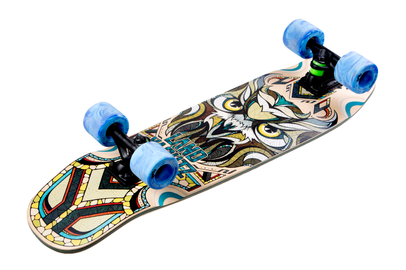 Skateboard de Preis avec l'illustration un hibou