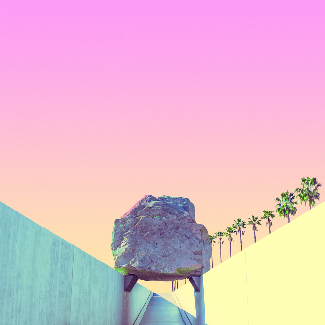 Candy minimalism: Levitating Mass by Matt Crump