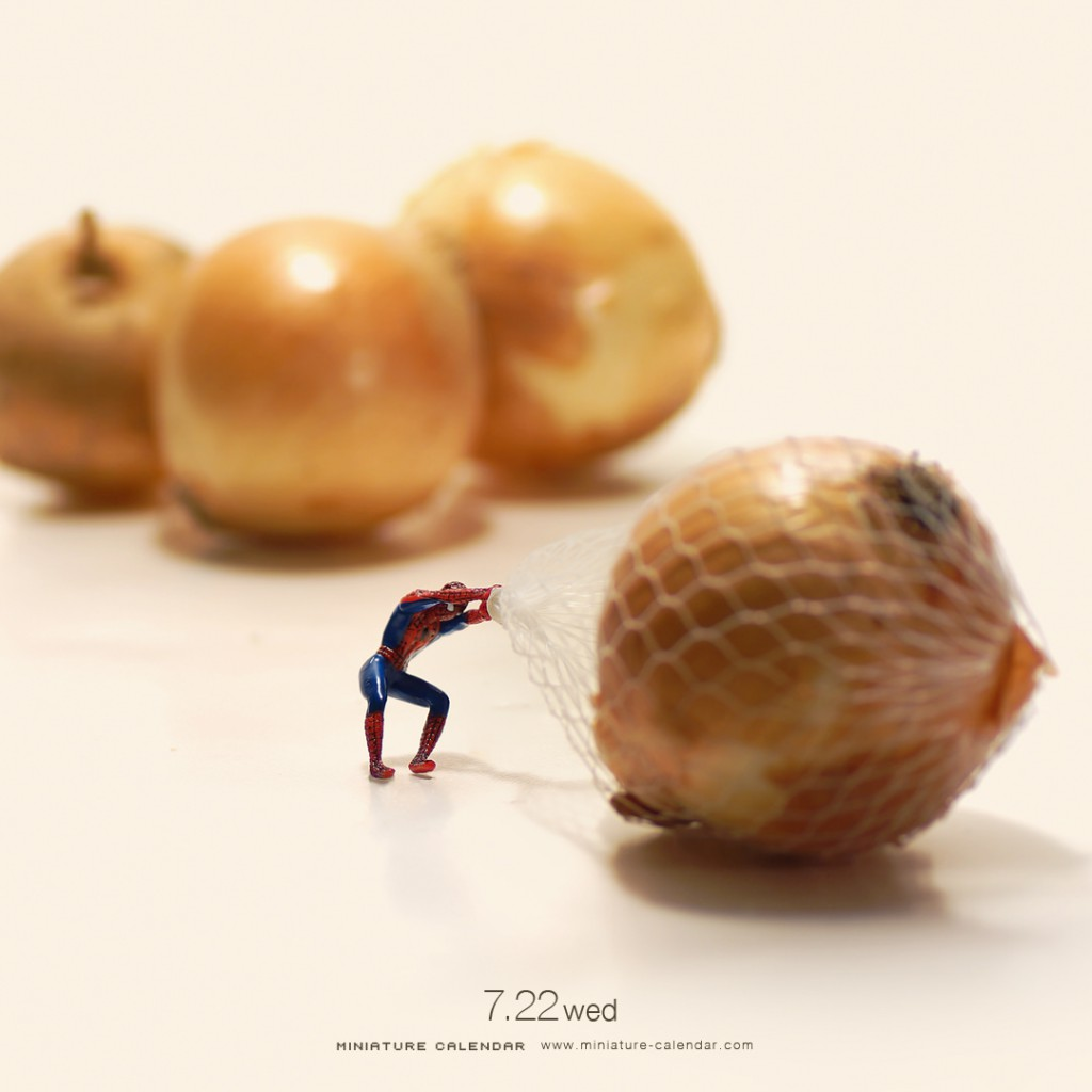 Miniature Calendar : Spiderman