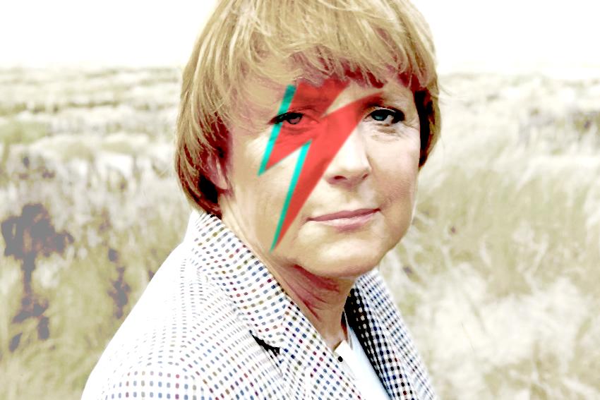Angela Merkel Bowie