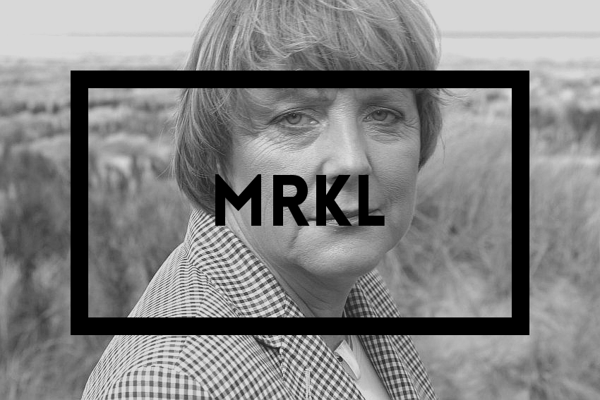 Hipster Merkel : Bold rectangle