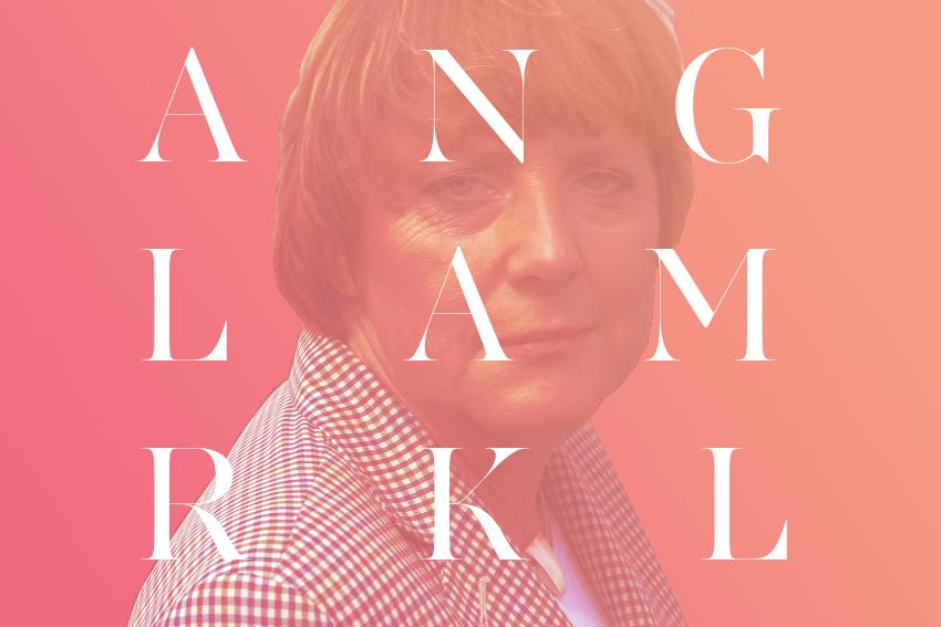 Hipster Merkel : Poster