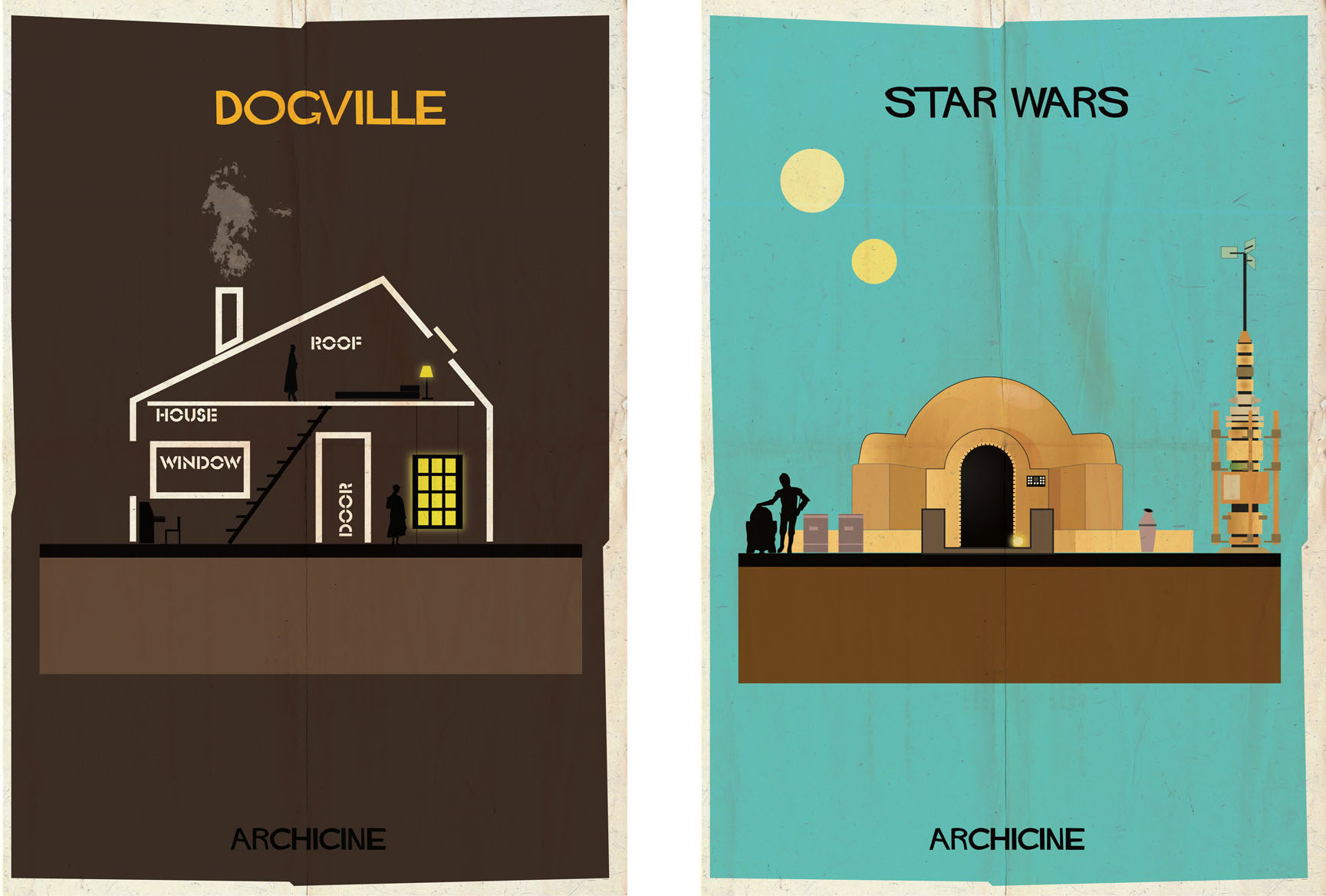 Dogville & Star wars: Archiciné by Federico Babina