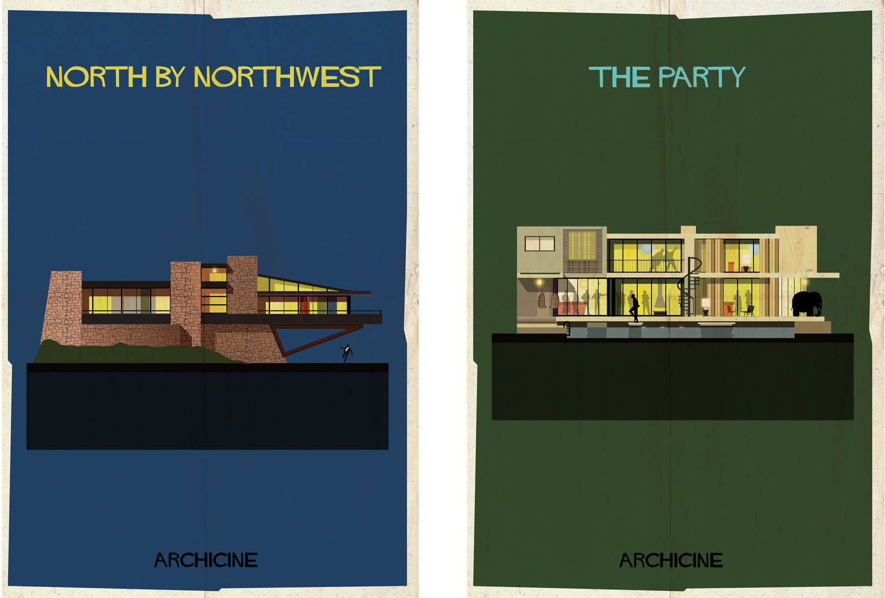 North by northwest & The party by Federico Babina