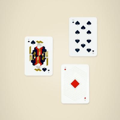 Cartes à jouer Papier Tigre
