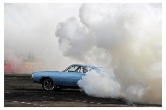 Burnout race car